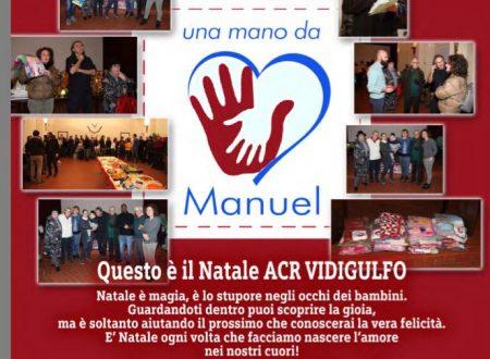 progetto UNA MANO PER MANUEL, UNA MANO DA MANUEL